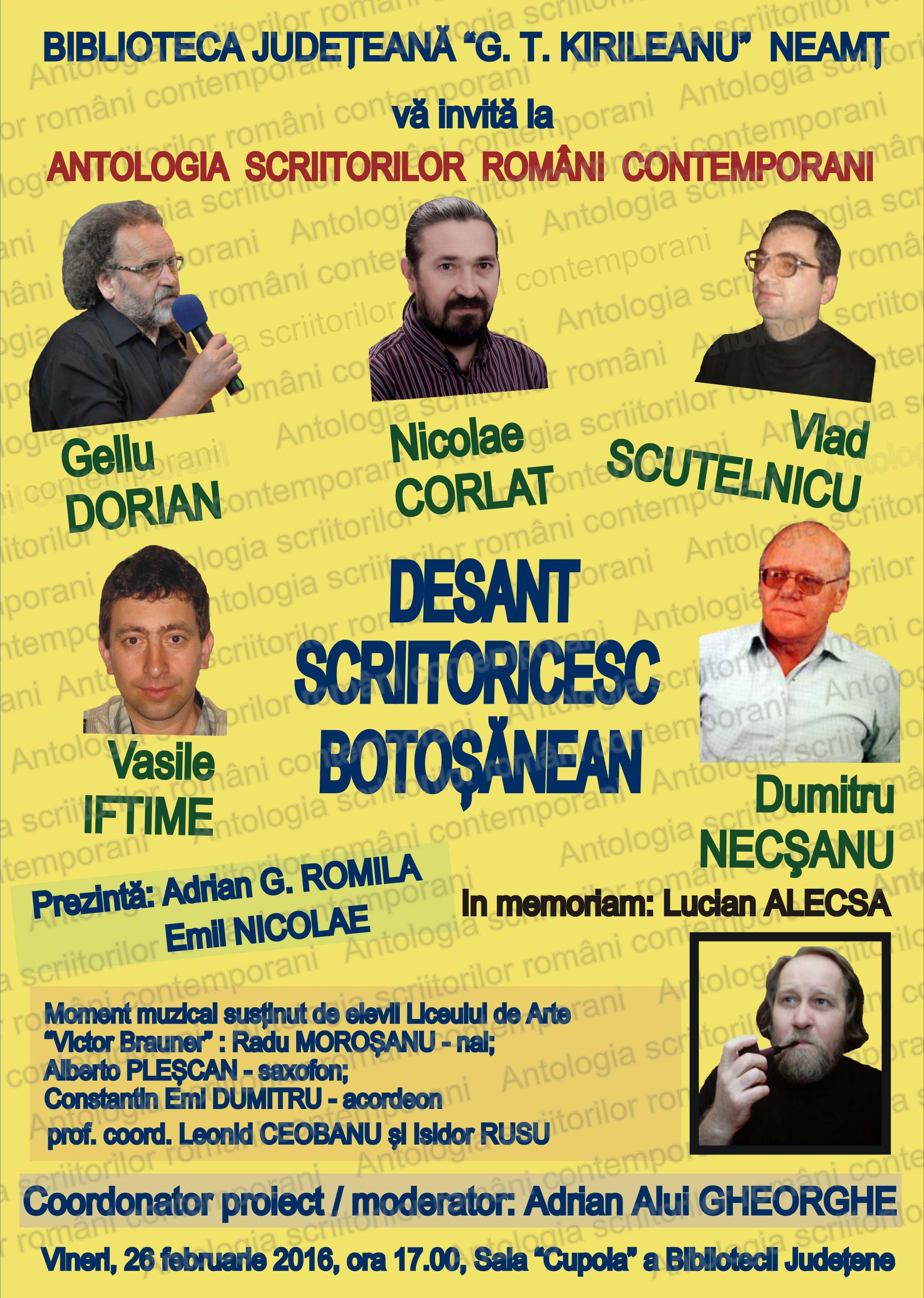 Afis 02_26_2016 Antologia scriitorilor romani contemporani  1