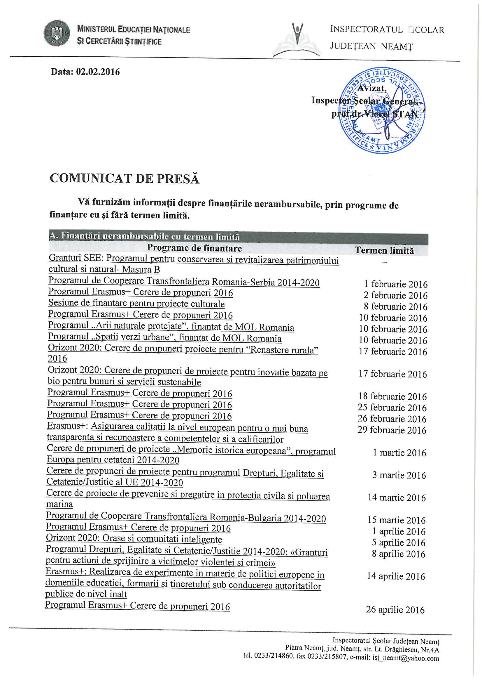 Comunicat de presa - finantari nerambursabile  02.02.2016_Page_1