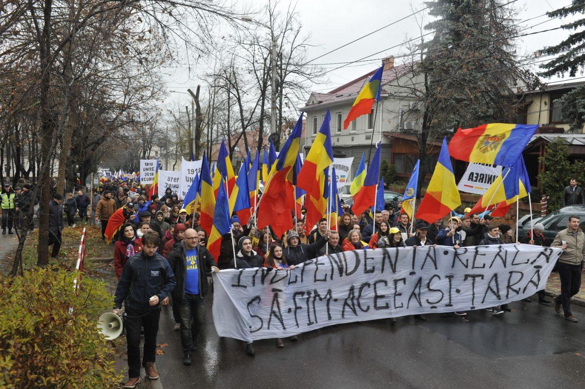 Marșul Unirii din Chișinău: 2018 este despre Basarabia -